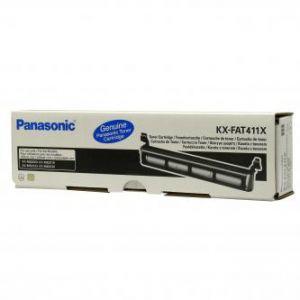 PANASONIC originální toner KX-FAT411E, black, 2000str., PANASONIC KX-MB2000, 2010, 2025, 2