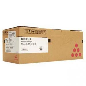 RICOH originální toner 406481, 407636, magenta, 6000str., RICOH SP C310, C311, C312, SP C2