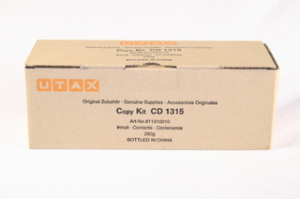 UTAX originální toner 611310015, black, 7200str., UTAX CD-1315, TA DC 2315, 290g
