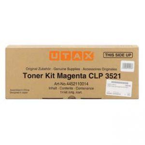 UTAX originální toner 4452110014, magenta, 4000str., UTAX CLP 3521