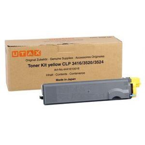 UTAX originální toner 4441610016, yellow, 8000str., UTAX CLP 3416, 3520, 3524, 4416, 4520,