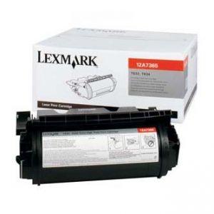 LEXMARK originální toner 12A7365, black, 32000str., LEXMARK T630, T632, T634, X630, X632e