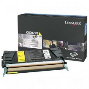 LEXMARK originální toner C5202YS, yellow, 1500str., LEXMARK C530