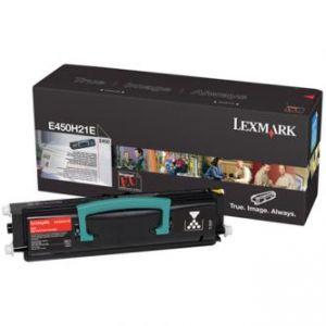 LEXMARK originální toner E450H21E, black, 11000str., LEXMARK E450
