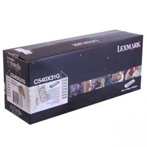 LEXMARK originální developer 0C540X31G, black, 30000str., LEXMARK X544x