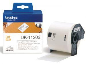 BROTHER DK-11202 originální originální (papírové/poštovní štítky-300ks) 62x100mm