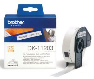 BROTHER DK-11203 originální (papírové/databáze-300ks) 17x87mm