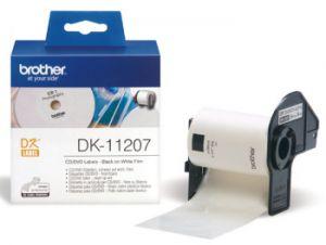 BROTHER DK-11207 originální (papírové / CD DVD štítek-100 ks)
