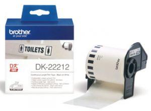 BROTHER DK-22212 originální (bílá filmová role 62mm x 15,24m)