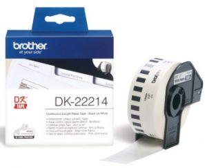 BROTHER DK-22214 originální (papírová role 12mm x 30,48m)