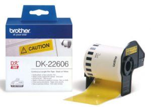 BROTHER DK-22606 originální (žlutá filmová role 62mm x 15,24m)