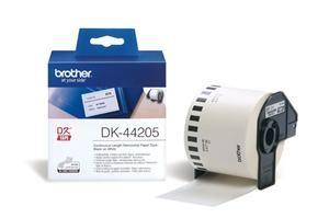 BROTHER DK-44205 originální (papírová role bílá 62mm x 30,48m) - snadno odstranitelná