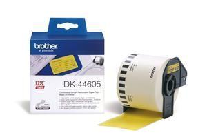 BROTHER DK-44605 originální (papírová role žlutá 62mm x 30,48m) - snadno odstranitelná
