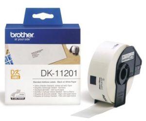 BROTHER DK-11201 originální (papírové / standardní adresy - 400 ks) 29 x 90 mm