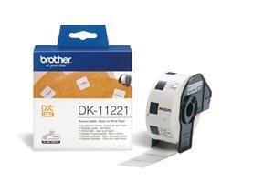 BROTHER DK-11221 originální (papírové / čtvercové, 23 mm - 1000 ks)