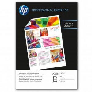 HP Professional Glossy Laser Photo Paper, 210x297mm (A4), 150 g/m2, 150 s, CG965A