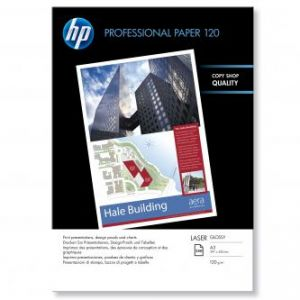 HP Profesionální lesklý papír 297x420mm A3 120g/m2 250 CG969A