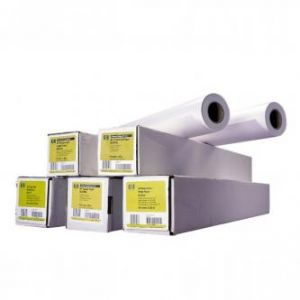 """HP 594/45.7m/Bright White Inkjet Paper, 594mmx45.7m, 23"""", Q1445A, 90 g/m2, papír, bílý, pr"""