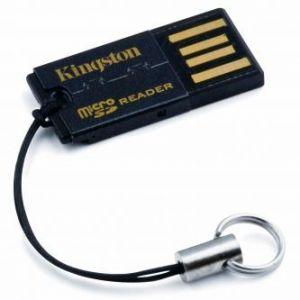 KINGSTON Čtečka (2.0), microSD, microSDHC, externí, černá, Windows 2000 SP3/XP SP1/Vista/M