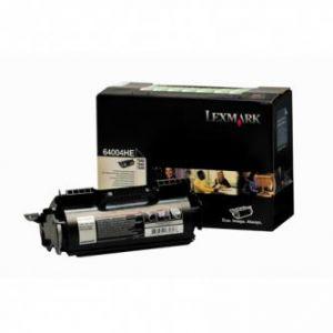 LEXMARK originální toner 64004HE, black, 21000str., return, LEXMARK T640, T642, T644, labe