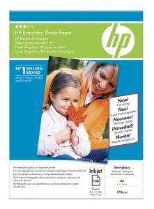 HP Everyday Photo,A4, pololesk, 200g, 100 ks
