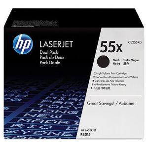 HP originální toner CE255XD, black, 12500str., HP 55X, HP Enterprise P3015, LaserJet Pro 5