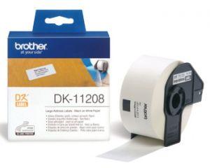 BROTHER DK-11208 originální (papírové / široké adresy-400 ks) 38x90mm