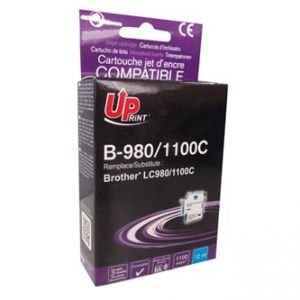 UP LC980C Inkoustová cartridge pro BROTHER DCP 145C / DCP165C, cyan, 12ml, UP