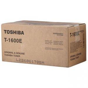 TOSHIBA originální toner T1600E, black, TOSHIBA 16, 160, 335g