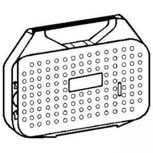 Páska pro psací stroj pro OLYMPIA ES 70, 71, MINI OFFICE 60-62, černá, fóliová, PK143, N