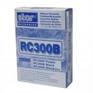 Star originální páska do pokladny, RC300B, černá, Star SP300, 312