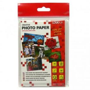 "Foto papír LOGO lesklý bílý 10x15cm 4x6"" 260g/m2 2880dpi 20listů"