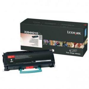 LEXMARK originální toner X264H21G, black, 9000str., high capacity, LEXMARK X264, X363, X36