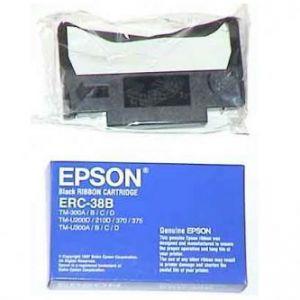 EPSON originální páska do pokladny, C43S015374, ERC 38, černá, EPSON TM-300, U 375, U 210,