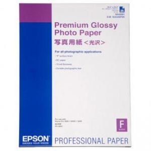EPSON Premium Glossy Photo Paper, foto papír, lesklý, bílý, Stylus Photo 890 ,A2,255g,25ks