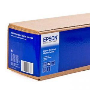 """EPSON 610/12.2/WaterResistant Matte Canvas Roll, 610mmx12.2m, 24"""", C13S042014, 375 g/m2, p"""