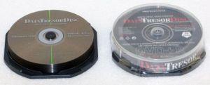 DataTresorDisc DVD+R, 10-pack, 4.7GB, 4x, 12cm, General, Standard, cake box, bez možnosti