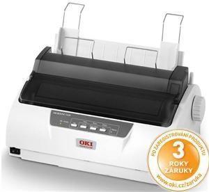 OKI ML1120 ECO Jehličková tiskárna  A4 USB 9 jehel 4 kopie USB LPT COM