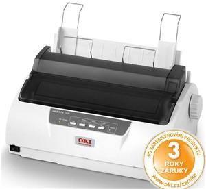 OKI ML1190 ECO Jehličková tiskárna A4 24 jehel 4 kopie USB