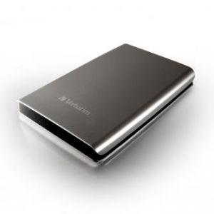 """VERBATIM externí pevný disk, Store,n,Go, 2.5"""", USB 2.0, 500GB, 53021, stříbrný"""