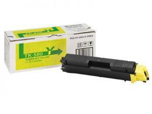 KYOCERA Mita originální toner TK-580Y yellow/žlutý 2800str., KYOCERA Mita FS- C5150DN