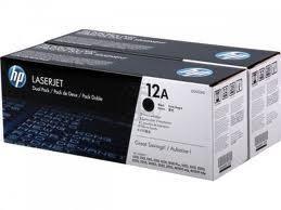 HP Q2612AD 2x Originální černý toner (4000 str.)