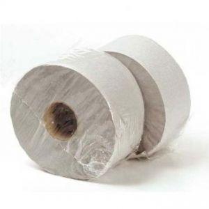 Toaletní papír dvouvrstvý, 190mm, šedý