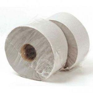 Toaletní papír jednovrstvý, 230mm, šedý, 6ks, cena za 1ks