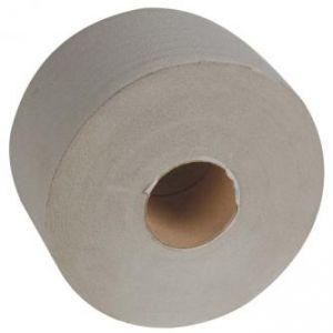 Toaletní papír jednovrstvý, 190mm, šedý, 6ks, cena za 1ks