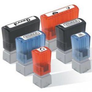 Razítko BROTHER PR2770R6P, červené, 27x70mm, min. odběr je 6 ks