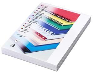 Kartonové desky Delta A4 zadní strana 250g bílá balení 100ks