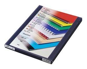 Transparentní fólie Prestige A4 přední strana 200mic čirá balení 100 ks