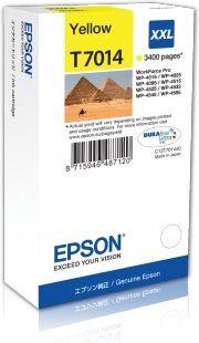 EPSON originální ink T7014 Yellow/Žlutý 3400str. EPSON WorkForce Pro WP4000, 4500 seri