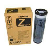 RISO originální ink S-4253E, black, RISO Z-typ, balení 2 ks, cena za kus